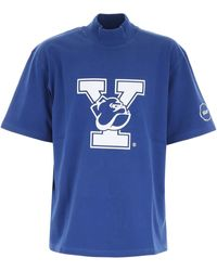 CALVIN KLEIN 205W39NYC - Yale Cotton-jersey T-shirt - Lyst