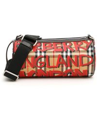 Burberry - Small Vintage Check Kennedy Bag - Lyst