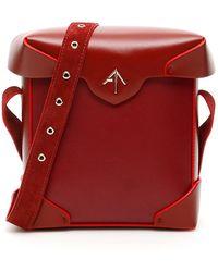 MANU Atelier Mini Pristine Bag - Red