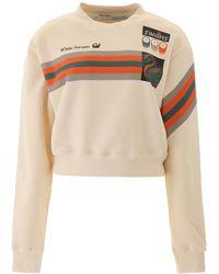 Off-White c/o Virgil Abloh Printed Sweatshirt - Multicolor