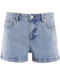 A.P.C. Denim Shorts - Blue