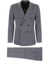 Dolce & Gabbana - Wool And Silk Suit - Lyst