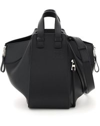 Loewe Leather Hammock Small Bag - Black