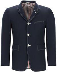 Thom Browne Classic Jacket - Blue