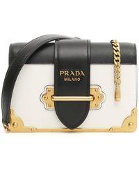 Prada Cahier Bag - Black