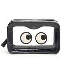a6241704ed4 Anya Hindmarch - Rainy Day Eyes Make Up Pouch - Lyst