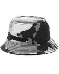 Dolce & Gabbana Camouflage Dg Bucket Hat - Grey