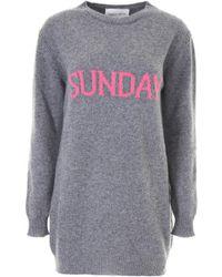Alberta Ferretti - Sunday Knit Dress - Lyst