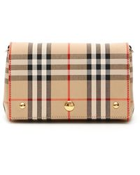 Burberry Hackberry Note Mini Bag - Natural