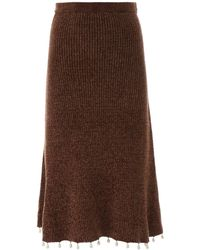 STAUD - Roger Skirt - Lyst