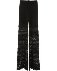 Amiri Crochet Trousers - Black