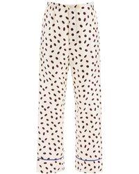 Marni Bubble Print Jacquard Trousers - Multicolour