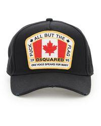 DSquared² - CAPPELLO BASEBALL CANADIAN FLAG - Lyst