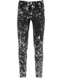 Stella McCartney High Rise Skinny Jeans 28 Cotton,denim - Black