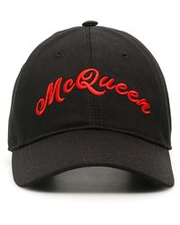 Alexander McQueen American Cap - Black