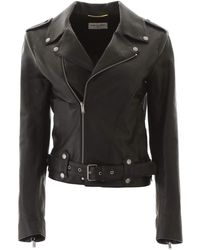 Saint Laurent Biker Jacket - Black