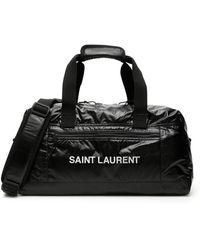 Saint Laurent BORSONE NYLON RIPSTOP NUXX - Nero
