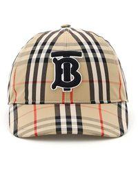 Burberry CAPPELLO CHECK BASEBALL TB - Multicolore