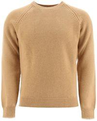 A.P.C. Pablo Crew-neck Jumper M Wool - Natural