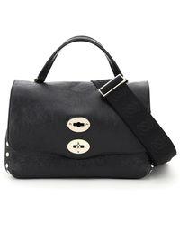 Zanellato Postina S Bag Venere Line Os Leather - Black