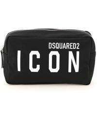 DSquared² BEAUTY CASE ICON - Nero