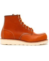 Red Wing Oro-legacy Moc Toe Boots - Brown