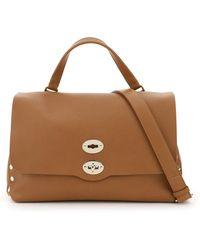 Zanellato Postina M Bag Heritage Line Os Leather - Brown