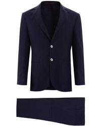 The Gigi Dega Two-piece Suit - Blue