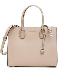MICHAEL Michael Kors Large Mercer Tote Bag - Natural