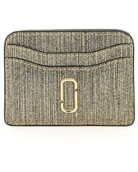 Marc Jacobs - The Snapshot Glitter Card Holder - Lyst