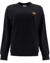 KENZO - Tiger Patch Sweatshirt - Lyst
