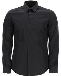 Vincenzo Di Ruggiero Classic Poplin Shirt - Black