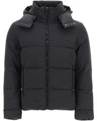 Fendi Reversible Down Jacket With Hood - Black