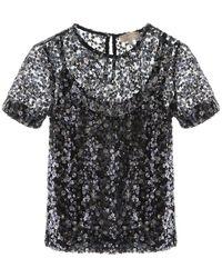 MICHAEL Michael Kors Sequined T-shirt - Black
