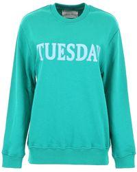 Alberta Ferretti - Monday Sweatshirt - Lyst