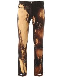 424 Stained Jeans - Brown