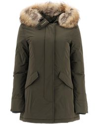 Woolrich Luxury Arctic Parka With Murmasky Fur - Green