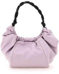 Marni Nylon Twirl Bag - Purple