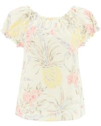 See By Chloé Spring Fruits Print Top - Multicolour