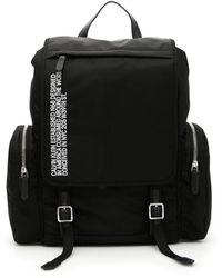 CALVIN KLEIN 205W39NYC Flap Backpack - Black