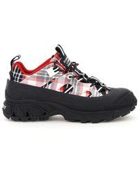 Burberry Arthur Tartan Sneakers - Multicolor