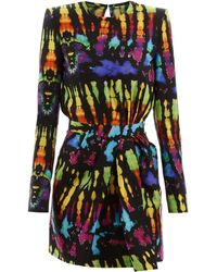DSquared² Tie-dye Dress - Black