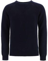 A.P.C. Pablo Crew-neck Jumper M Wool - Blue