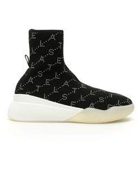 Stella McCartney - Loop Sock Sneakers - Lyst