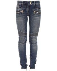 Balmain Biker Jeans - Blue
