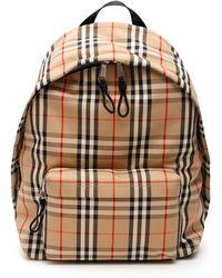 Burberry Vintage Check Jett Backpack - Black