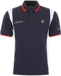 Z Zegna Maserati Polo Shirt - Blue