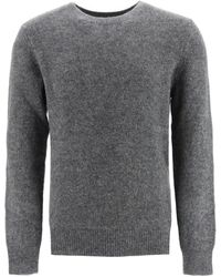 A.P.C. Diego Crewneck Jumper Xl Wool - Grey