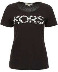 MICHAEL Michael Kors Sequins T-shirt - Black