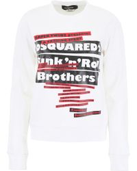 DSquared² Punk'n'roll Sweatshirt - Multicolour